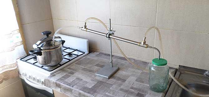 Самогонный аппарат своими руками если нет водопровода